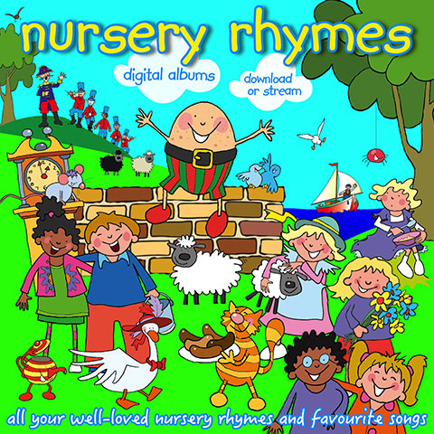 Nursery Rhymes Digital Albums