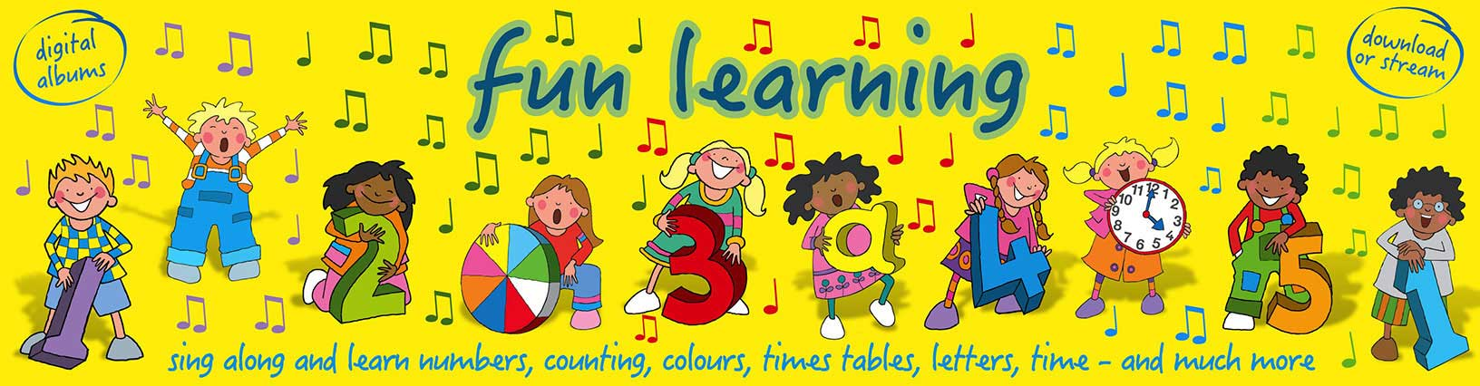 Fun Learning Songs Albums