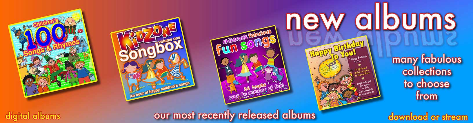 New Digital Childrens Albums