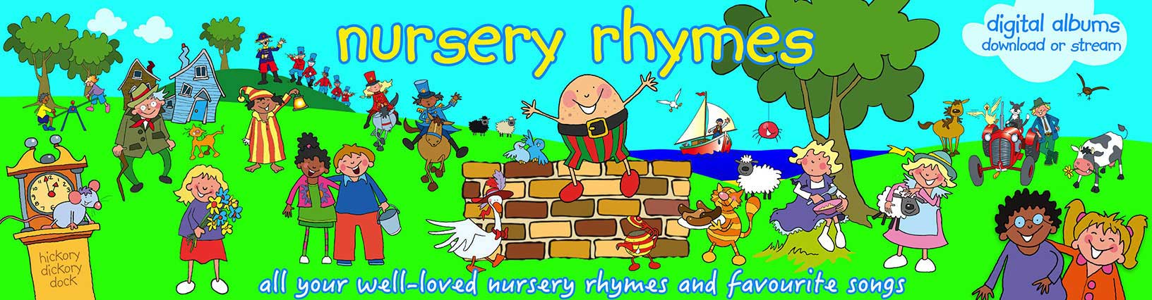 Nursery Rhymes Albums