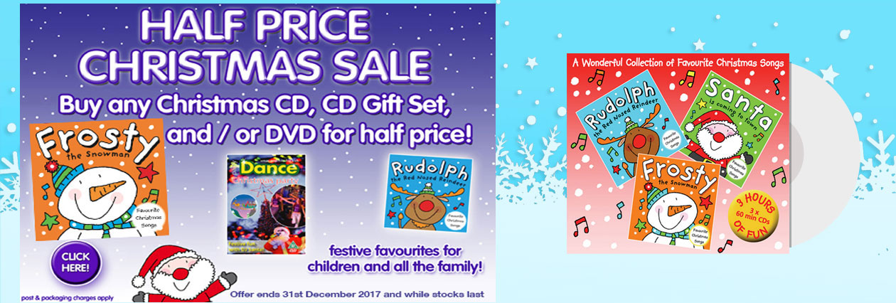 Childrens CDs for Christmas