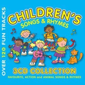 Children's Songs and Rhymes 3CD Gift Set