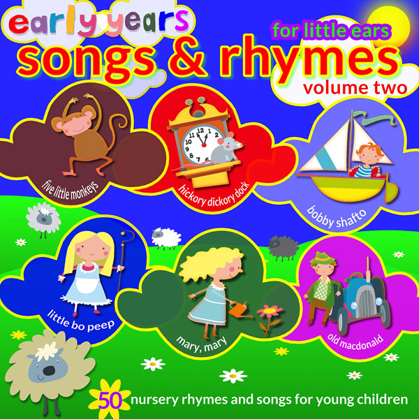 Early Years Songs & Rhymes - Volume 2 (Digital Album)