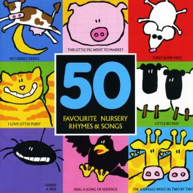 50 Favourite Nursery Rhymes And Songs (Digital Album)