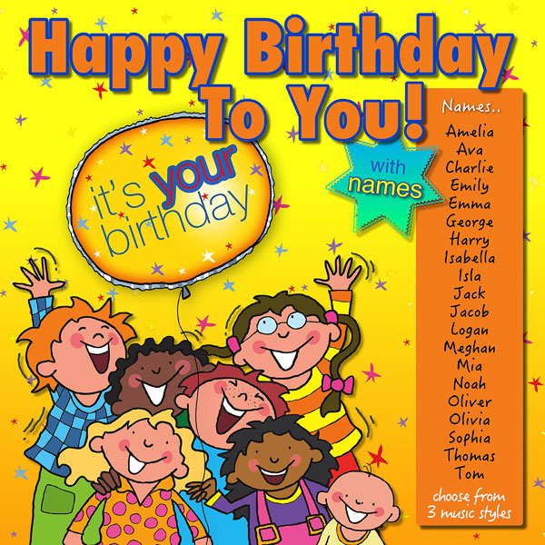 Happy Birthday To You! (Digital Album)