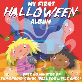 A selection of Children's Halloween songs digital albums