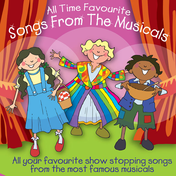 All Time Favourite Songs From The Musicals (Digital Album)
