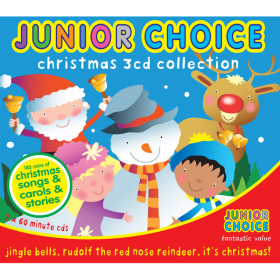 Junior Choice 3CD Christmas Collection Boxset