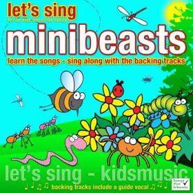 Let's Sing Minibeasts (Digital Album)