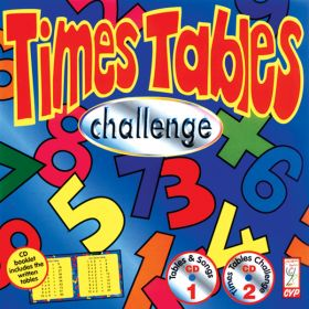 Times Tables Challenge Double CD Audio Game