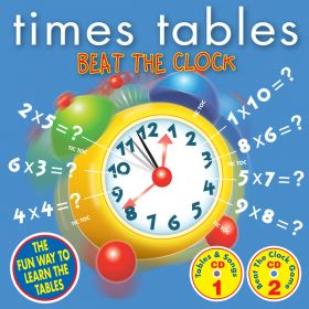 Times Tables Beat The Clock Double CD Audio Game