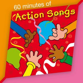 60 Minutes of Action Songs CD