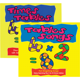 Tables Songs CD and Book