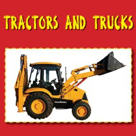 Tractors and Trucks - Play it and Print It CD