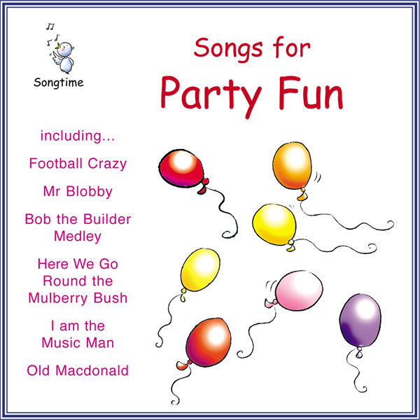 Songs For Party Fun (Digital Album)