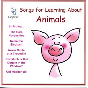 Songs For Learning About Animals (Digital Album)