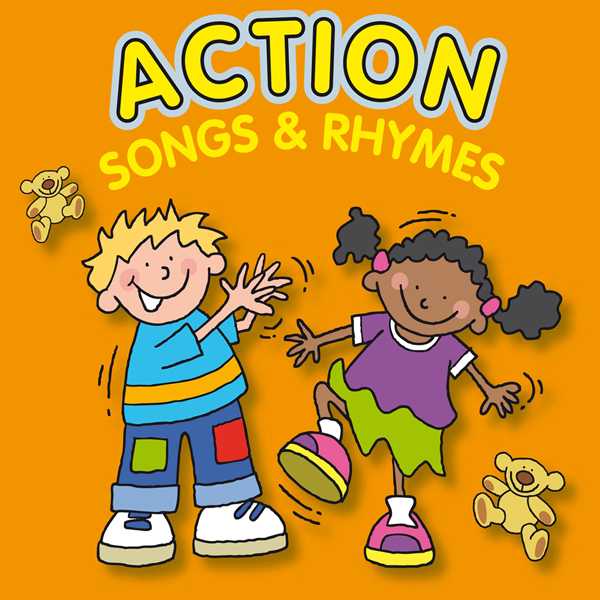 Action Songs and Rhymes (Digital Album)
