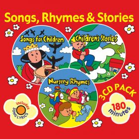 3 CD Songs, Rhymes & Stories CD Gift Set