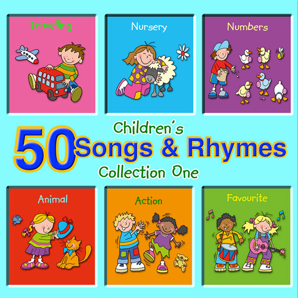 50 Children's Songs & Rhymes - Collection One (Digital Album)
